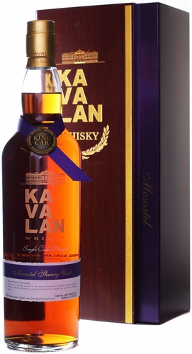 Kavalan Moscatel Sherry Cask Strength Single Malt Whisky