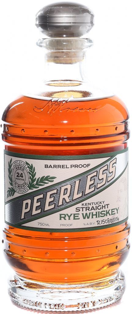 Kentucky Peerless Cask Strength Rye Whiskey 750ML