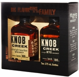 Knob Creek 375ml Bourbon & Rye 2 Pack