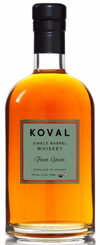 Koval Single Barrel Four Grain Whiskey 750ML