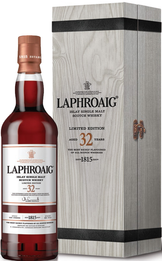 Laphroaig 32 Year Old Single Malt Scotch