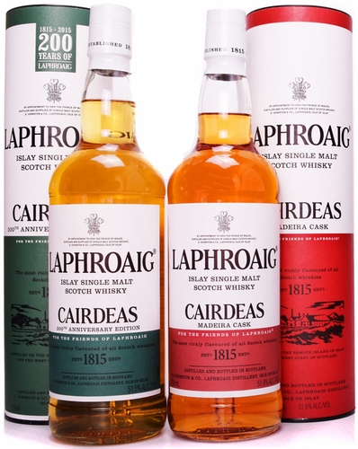Laphroaig Cairdeas Two Pack- 2015 & 2016 Releases!