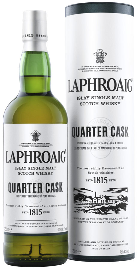 Laphroaig Quarter Cask Single Malt Scotch