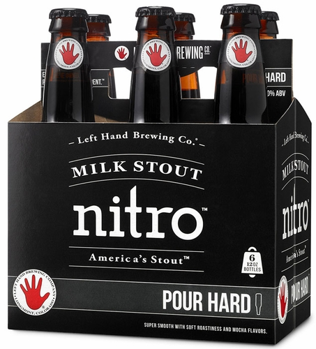 Left Hand Nitro Milk Stout 6PK