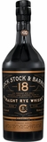 Lock Stock & Barrel 18 Year Old Straight Rye Whiskey 750ML