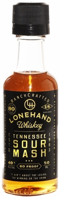 Lonehand Tennessee Sour Mash Whiskey 50ML