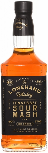 Lonehand Tennessee Sour Mash Whiskey (Case of 12 (750ML))
