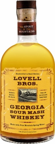 Lovell Brothers Georgia Sour Mash Whiskey