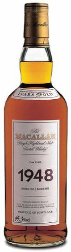 The Macallan 1948 Fine & Rare 53 Year Old Single Malt Scotch