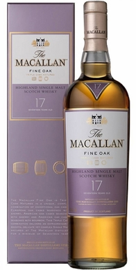 The Macallan Fine Oak 17 Year Old Single Malt Scotch