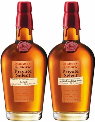 Maker's Mark 46 Private Select Barrel Bourbon 2 Pack