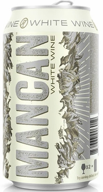 Mancan White Wine in a Can 375ML