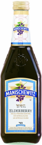 Manischewitz Elderberry Wine 750ML