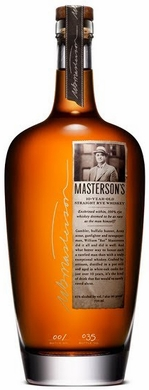 Mastersons 10 Year Old Rye Whiskey 750ML