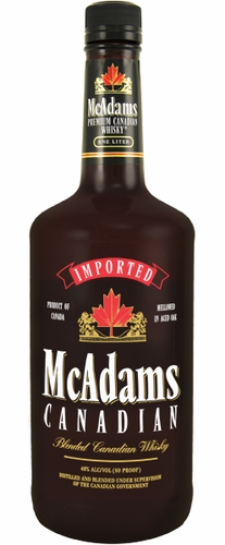 Mcadams Canadian Whisky 1L