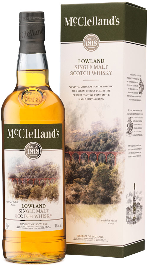 McClelland's Lowland Single Malt Scotch