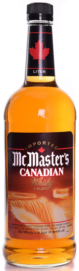 Mcmaster S Canadian Whisky 1 Ltr Buy Canadian Whiskey
