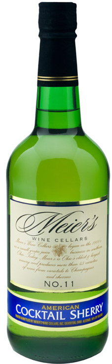 Meiers #11 Pale & Dry Sherry 750ML