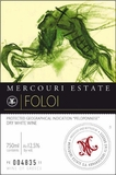 Mercouri Estate Foloi White 750ML 2014