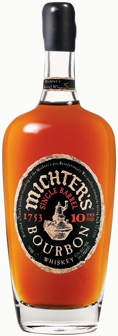 Michters 10 Year Old Single Barrel Bourbon 750ML
