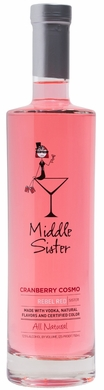 Middle Sister Rebel Red Cranberry Cosmo Cocktail