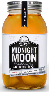 Midnight Moon Peach Flavored Moonshine 750ML