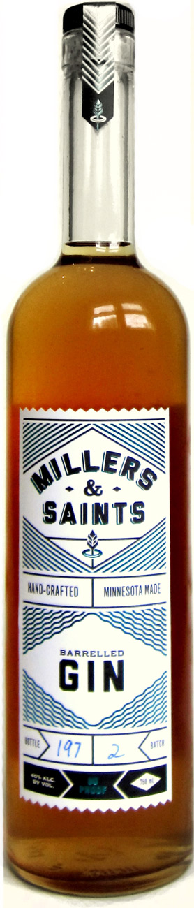 Millers & Saints Barrel Aged Gin 750ML