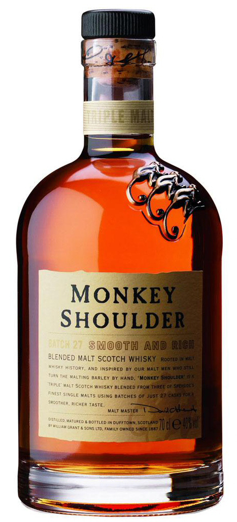 Monkey Shoulder Blended Malt Scotch Whisky 750ML