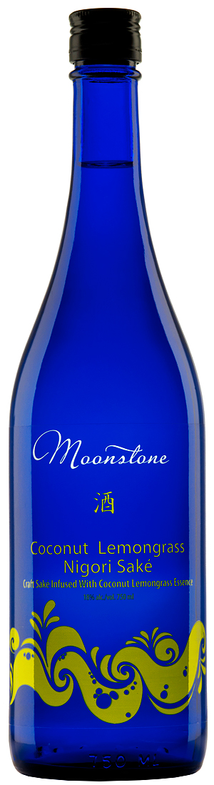 Moonstone Coconut Lemongrass Nigori Sake