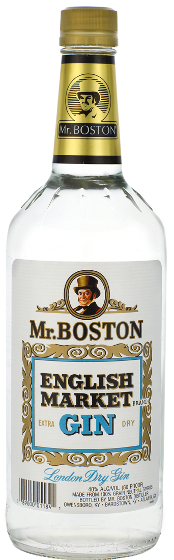 Mr. Boston English Market London Dry Gin 1L