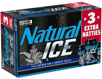 Natural Ice 15pk Cans