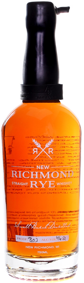 New Richmond Straight Rye Whiskey 750ML