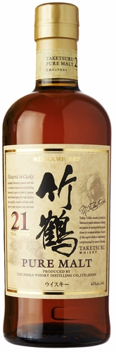 Nikka Taketsuru Pure Malt 21 Year Old Japanese Whisky