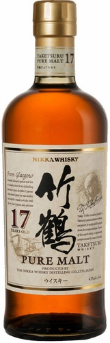 Nikka Taketsuru Pure Malt 17 Year Old Japanese Whisky
