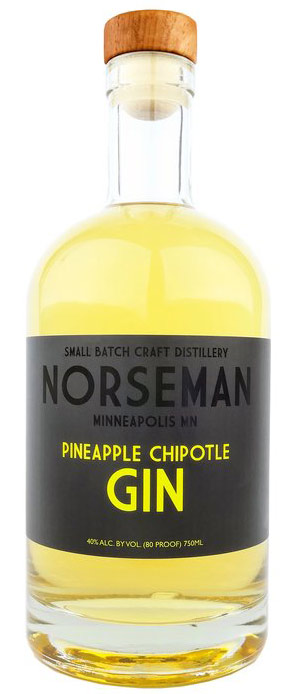 Norseman Pineapple Chipotle Flavored Gin 750ML