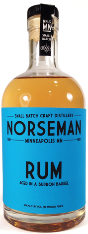 Norseman Rum Aged in a Whiskey Barrel