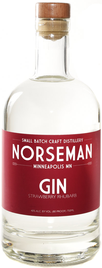 Norseman Strawberry Rhubarb Gin 750ML