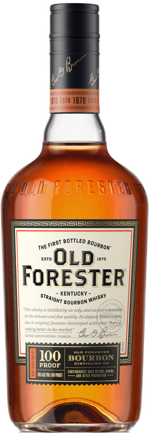Old Forester 100 Proof Bourbon Buy Old Forester Whiskey