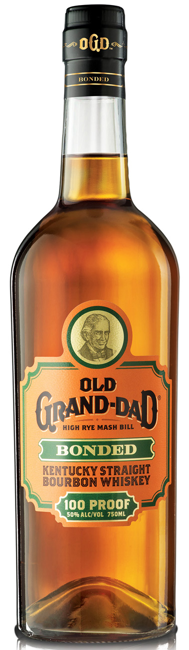 Old Grand Dad Bonded 100 Proof Bourbon 1L