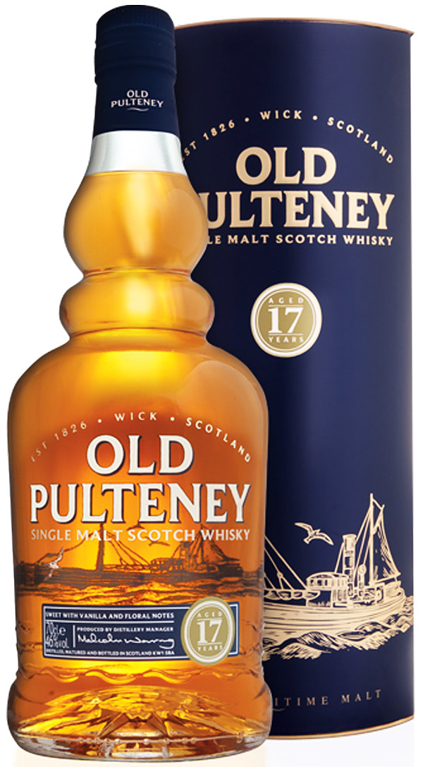 Old Pulteney 17 Year Old Single Malt Scotch