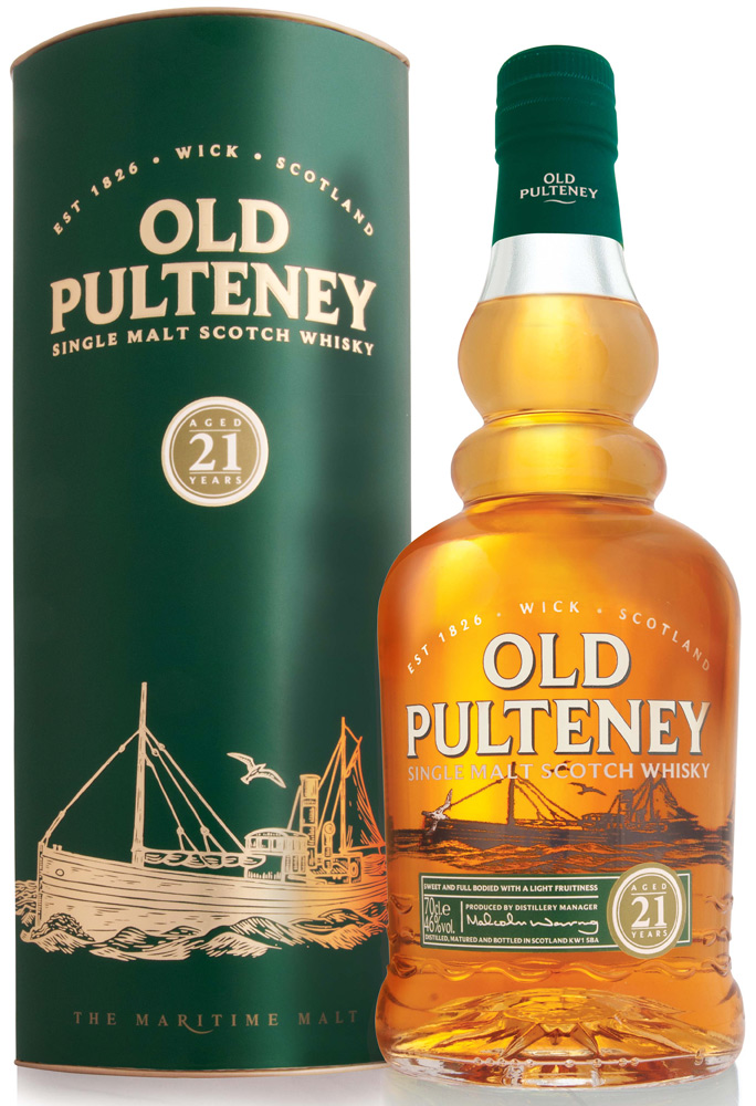 Old Pulteney 21 Year Old Single Malt Scotch