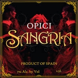 Opici Sangria Red 3L