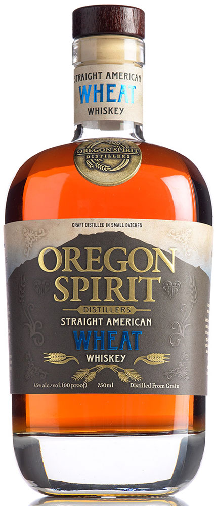 Oregon Spirit Straight Wheat Whiskey 750ML