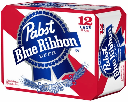 Pabst Blue Ribbon 12pk Cans