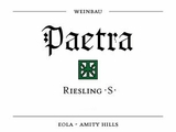 Paetra S Riesling 2015