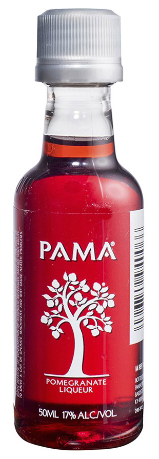 Pama Pomagranate Liqueur 50ml Miniature