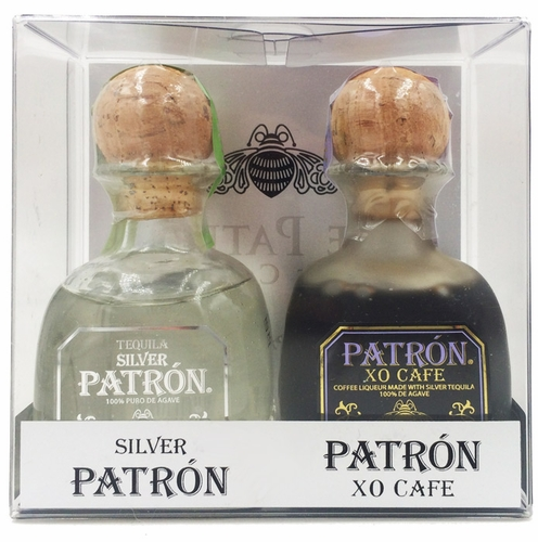 Patron Silver & XO Cafe 50ml Two Pack