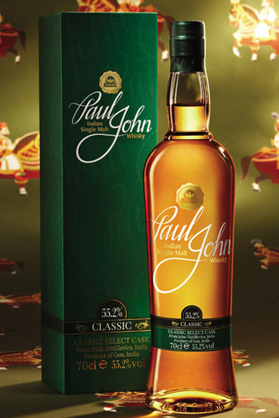 Paul John Classic Select Cask Indian Single Malt Whisky