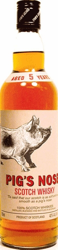 Pigs Nose 5 Year Old Blended Scotch 750ML