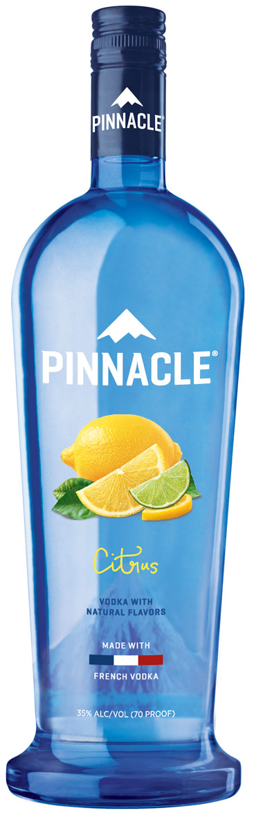 Pinnacle Citrus Flavored Vodka 1L